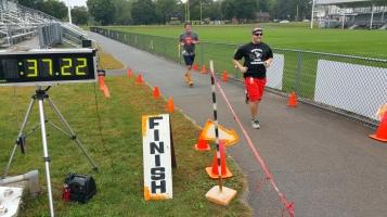 St. Luke's Cares For Kids 5K, Kids Fun Run, PV Football Field, Lansford, (229)