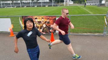 St. Luke's Cares For Kids 5K, Kids Fun Run, PV Football Field, Lansford, (233)