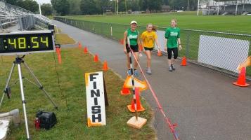 St. Luke's Cares For Kids 5K, Kids Fun Run, PV Football Field, Lansford, (235)