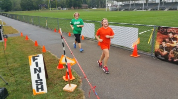 St. Luke's Cares For Kids 5K, Kids Fun Run, PV Football Field, Lansford, (247)