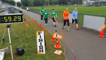 St. Luke's Cares For Kids 5K, Kids Fun Run, PV Football Field, Lansford, (252)