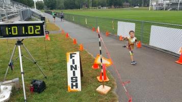St. Luke's Cares For Kids 5K, Kids Fun Run, PV Football Field, Lansford, (257)