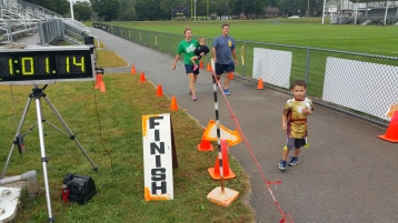 St. Luke's Cares For Kids 5K, Kids Fun Run, PV Football Field, Lansford, (258)