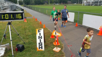 St. Luke's Cares For Kids 5K, Kids Fun Run, PV Football Field, Lansford, (259)