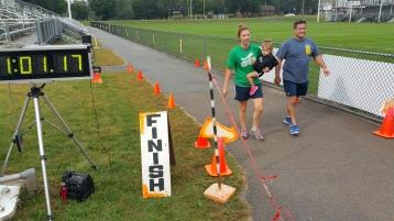 St. Luke's Cares For Kids 5K, Kids Fun Run, PV Football Field, Lansford, (260)