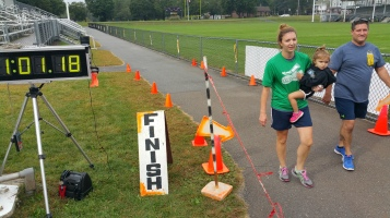 St. Luke's Cares For Kids 5K, Kids Fun Run, PV Football Field, Lansford, (261)