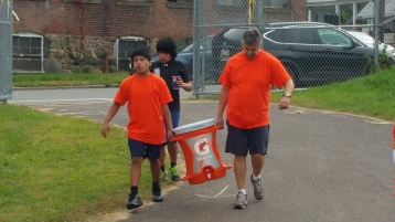St. Luke's Cares For Kids 5K, Kids Fun Run, PV Football Field, Lansford, (264)