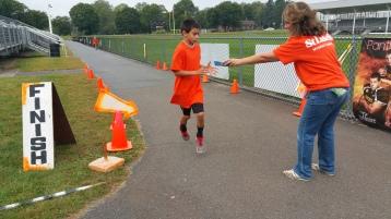 St. Luke's Cares For Kids 5K, Kids Fun Run, PV Football Field, Lansford, (266)