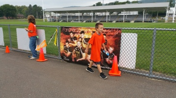 St. Luke's Cares For Kids 5K, Kids Fun Run, PV Football Field, Lansford, (270)