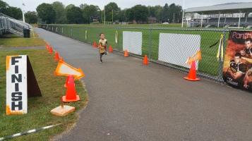 St. Luke's Cares For Kids 5K, Kids Fun Run, PV Football Field, Lansford, (271)