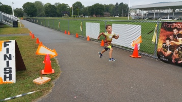 St. Luke's Cares For Kids 5K, Kids Fun Run, PV Football Field, Lansford, (272)