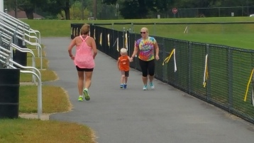 St. Luke's Cares For Kids 5K, Kids Fun Run, PV Football Field, Lansford, (276)