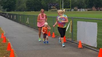 St. Luke's Cares For Kids 5K, Kids Fun Run, PV Football Field, Lansford, (277)