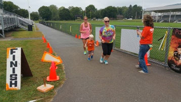 St. Luke's Cares For Kids 5K, Kids Fun Run, PV Football Field, Lansford, (278)