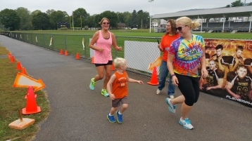 St. Luke's Cares For Kids 5K, Kids Fun Run, PV Football Field, Lansford, (280)