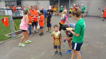 St. Luke's Cares For Kids 5K, Kids Fun Run, PV Football Field, Lansford, (281)