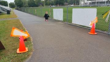 St. Luke's Cares For Kids 5K, Kids Fun Run, PV Football Field, Lansford, (284)