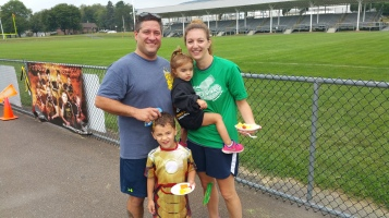 St. Luke's Cares For Kids 5K, Kids Fun Run, PV Football Field, Lansford, (291)