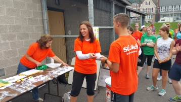 St. Luke's Cares For Kids 5K, Kids Fun Run, PV Football Field, Lansford, (296)