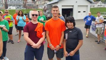St. Luke's Cares For Kids 5K, Kids Fun Run, PV Football Field, Lansford, (298)