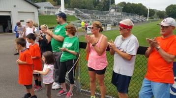 St. Luke's Cares For Kids 5K, Kids Fun Run, PV Football Field, Lansford, (306)