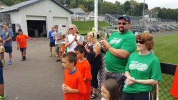 St. Luke's Cares For Kids 5K, Kids Fun Run, PV Football Field, Lansford, (307)