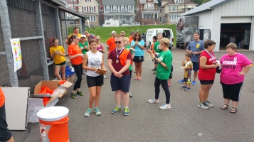 St. Luke's Cares For Kids 5K, Kids Fun Run, PV Football Field, Lansford, (315)