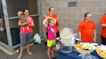 St. Luke's Cares For Kids 5K, Kids Fun Run, PV Football Field, Lansford, (318)