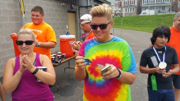 St. Luke's Cares For Kids 5K, Kids Fun Run, PV Football Field, Lansford, (320)