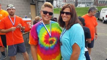 St. Luke's Cares For Kids 5K, Kids Fun Run, PV Football Field, Lansford, (322)