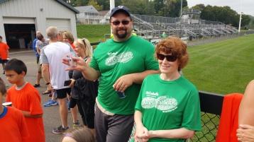 St. Luke's Cares For Kids 5K, Kids Fun Run, PV Football Field, Lansford, (324)