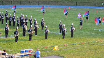 Tamaqua Area Raider Marching Band, TASD Sports Stadium, Tamaqua, 9-18-2015 (10)