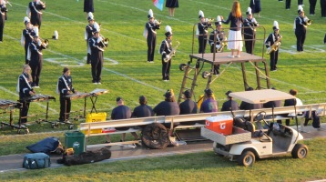 Tamaqua Area Raider Marching Band, TASD Sports Stadium, Tamaqua, 9-18-2015 (11)