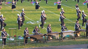 Tamaqua Area Raider Marching Band, TASD Sports Stadium, Tamaqua, 9-18-2015 (12)