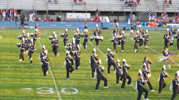 Tamaqua Area Raider Marching Band, TASD Sports Stadium, Tamaqua, 9-18-2015 (14)