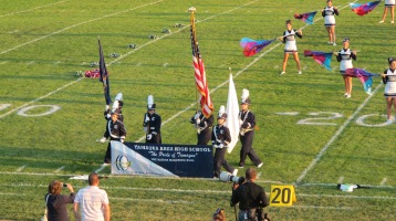 Tamaqua Area Raider Marching Band, TASD Sports Stadium, Tamaqua, 9-18-2015 (15)