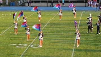 Tamaqua Area Raider Marching Band, TASD Sports Stadium, Tamaqua, 9-18-2015 (16)