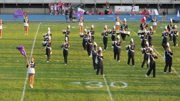 Tamaqua Area Raider Marching Band, TASD Sports Stadium, Tamaqua, 9-18-2015 (17)
