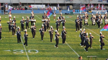 Tamaqua Area Raider Marching Band, TASD Sports Stadium, Tamaqua, 9-18-2015 (18)