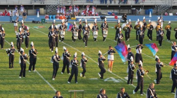 Tamaqua Area Raider Marching Band, TASD Sports Stadium, Tamaqua, 9-18-2015 (19)