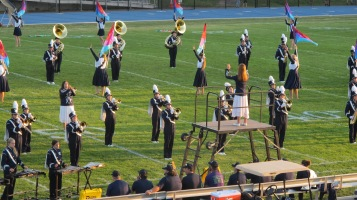 Tamaqua Area Raider Marching Band, TASD Sports Stadium, Tamaqua, 9-18-2015 (22)