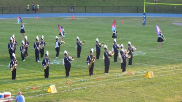 Tamaqua Area Raider Marching Band, TASD Sports Stadium, Tamaqua, 9-18-2015 (24)