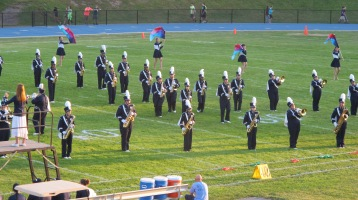 Tamaqua Area Raider Marching Band, TASD Sports Stadium, Tamaqua, 9-18-2015 (25)