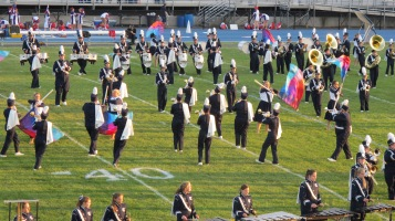 Tamaqua Area Raider Marching Band, TASD Sports Stadium, Tamaqua, 9-18-2015 (28)