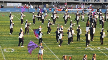 Tamaqua Area Raider Marching Band, TASD Sports Stadium, Tamaqua, 9-18-2015 (29)
