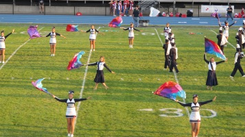 Tamaqua Area Raider Marching Band, TASD Sports Stadium, Tamaqua, 9-18-2015 (30)
