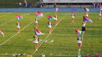 Tamaqua Area Raider Marching Band, TASD Sports Stadium, Tamaqua, 9-18-2015 (32)
