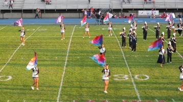 Tamaqua Area Raider Marching Band, TASD Sports Stadium, Tamaqua, 9-18-2015 (33)