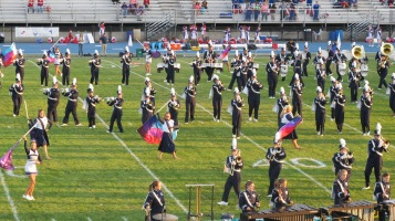 Tamaqua Area Raider Marching Band, TASD Sports Stadium, Tamaqua, 9-18-2015 (34)