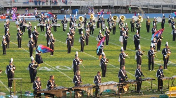 Tamaqua Area Raider Marching Band, TASD Sports Stadium, Tamaqua, 9-18-2015 (35)